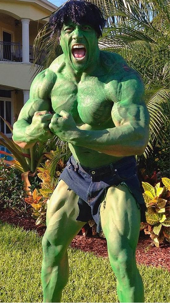 The Rock As The Hulk