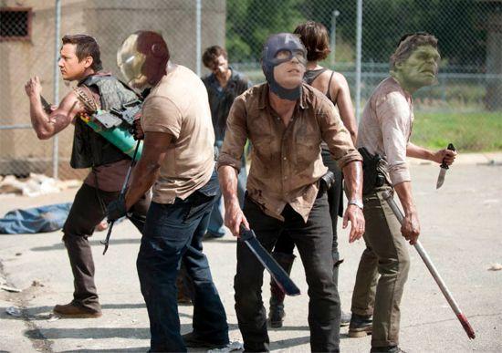 The Walking Dead As Avengers