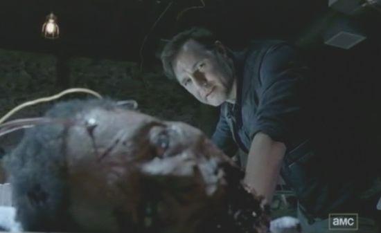 The Walking Dead lab