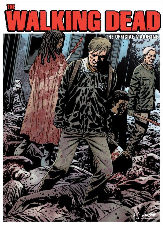 The Walking Dead Magazine #2 Alternate Cover