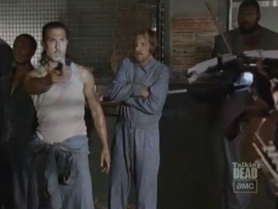 Th eWalking Dead preview inmates