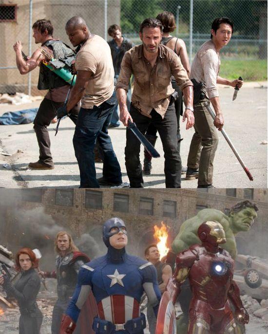 The Walking Dead The Avengers