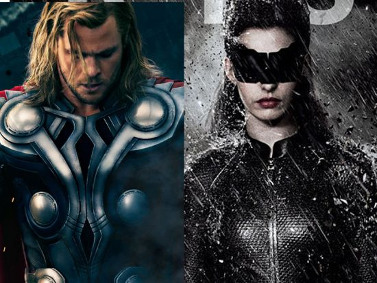 Thor and Catwoman