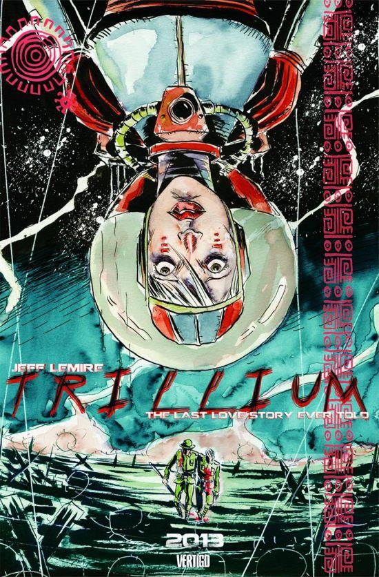 Trillium Comic Jeff Lemire
