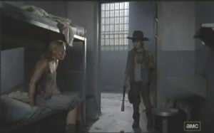 The Walking Dead Carl and Beth