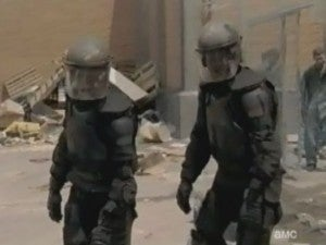 Zombies in Riot Gear