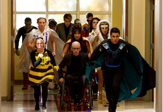 Glee Superhero Club