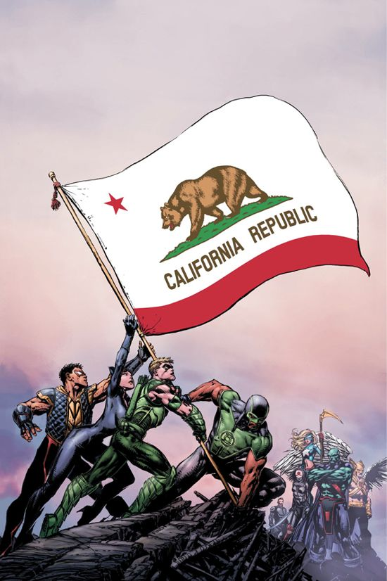 Justice League California