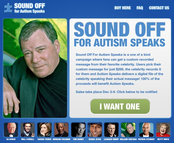 Sound-Off-For-Autism-Speaks-Campaign-Celebrity-Charity-Fundraiser-Messages-Portal