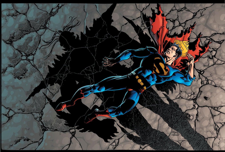 Superman Doomsday color