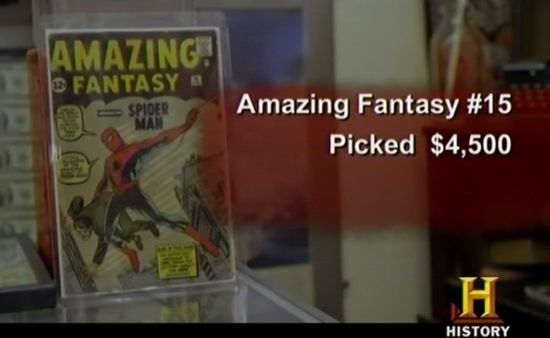 American Pickers Amazing Fantasy #15