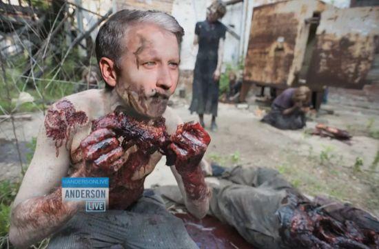 Anderson Cooper Zombie