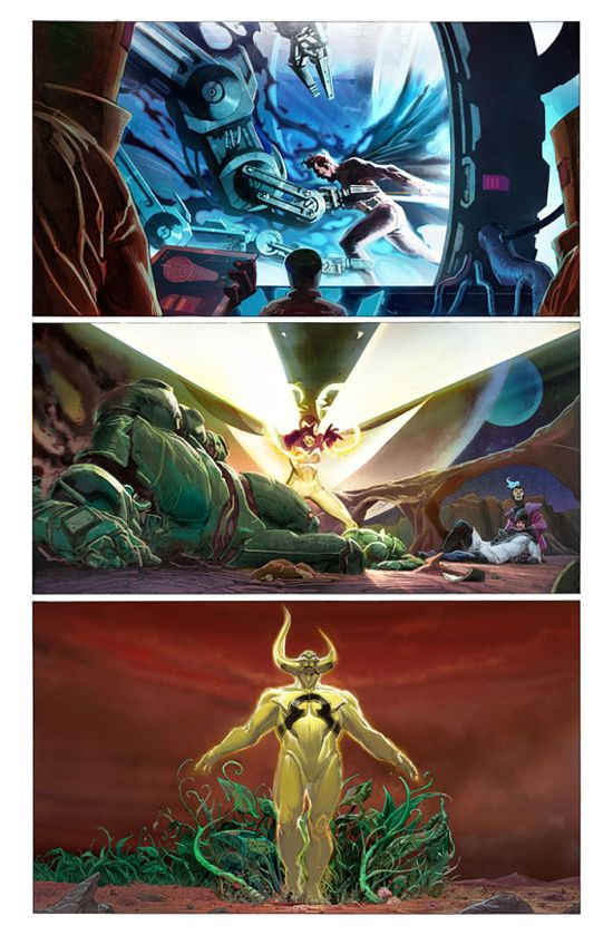 Avengers #1 Page 1