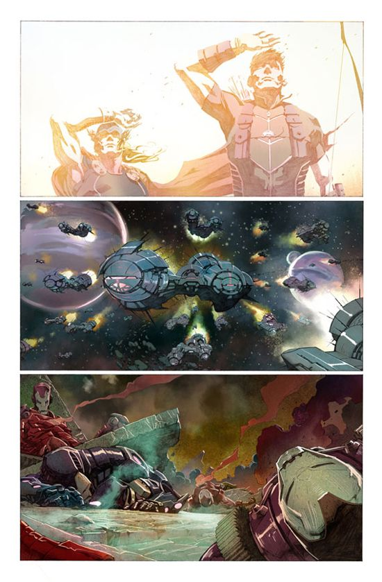 Avengers #1 Page 2