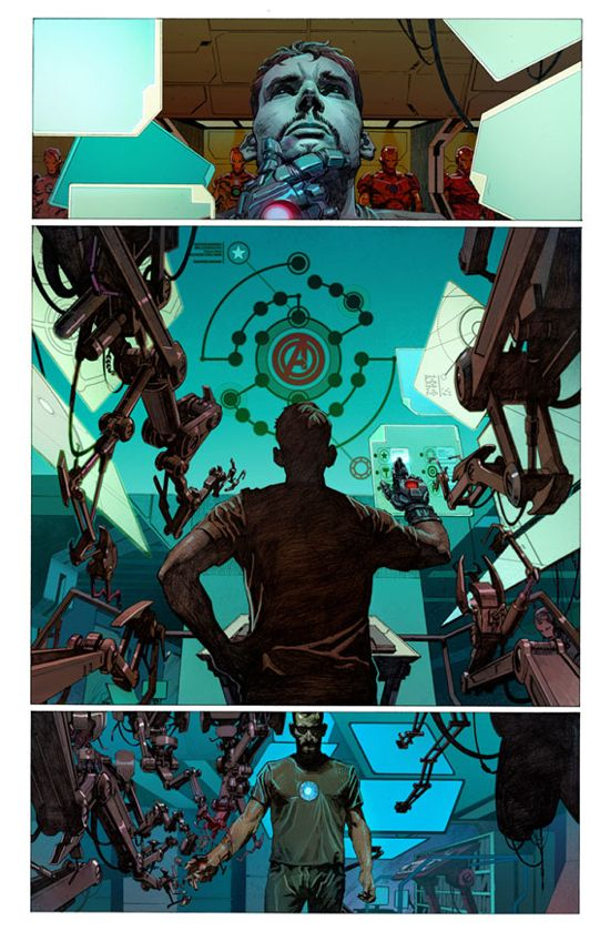 Avengers #1 Page 3