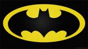Batman yellow oval