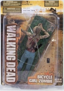 Bicycle Girl Zombie