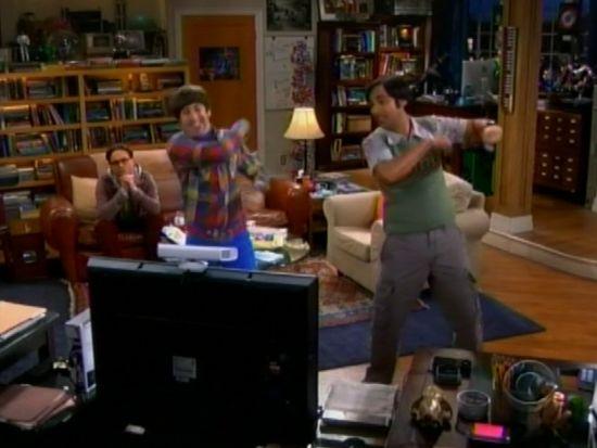 The Big Bang Theory Star Wars Dance