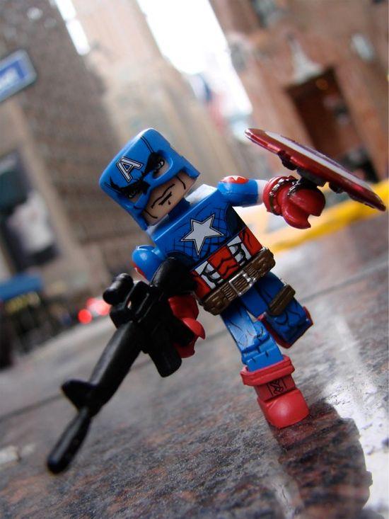 Captain America Minimate