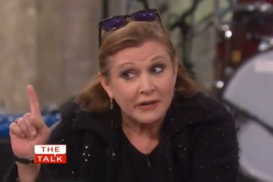 Carrie Fisher the Talk
