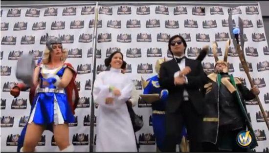 Comic Con Gangnam Style