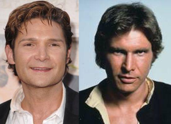 Corey Feldman as Han Solo's son