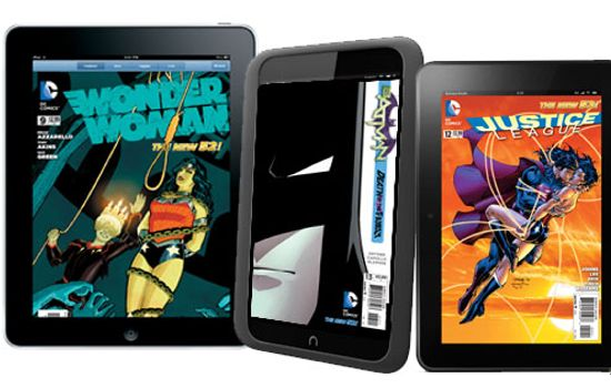 DC Digital Comic Books