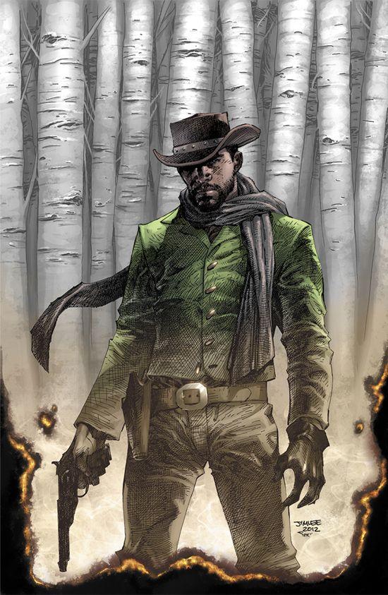 Django Unchained #1 Cover