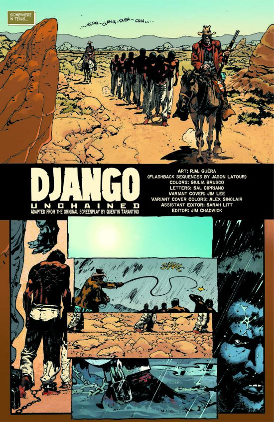 Django Unchained #1 Page 1