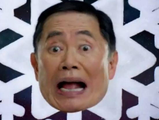 George Takei Cheermageddon Black Friday Old Navy