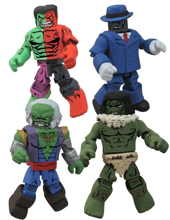 Hulk Through The Ages Minimates