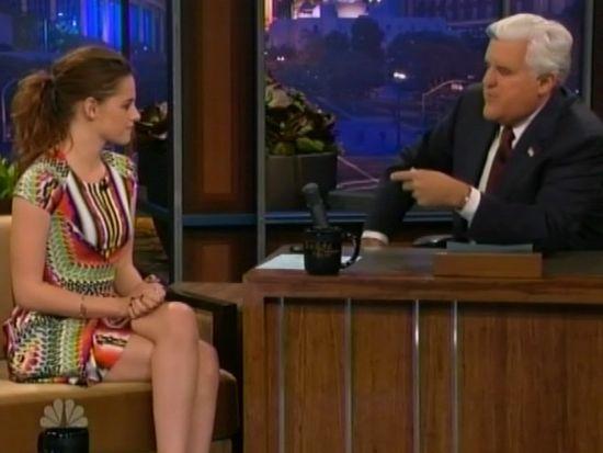 Kristen Stewart Tonight Show
