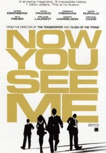 Now You See Me Trailer