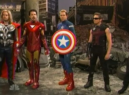 Saturday Night Live The Avengers