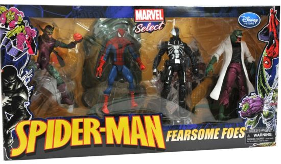 Spider-Man Fearsome Foes