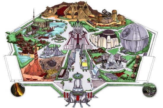 Star Wars Universe Dream Park