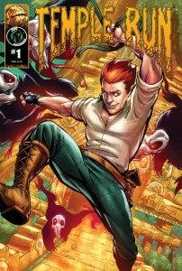Temple Run Comic Book Cover