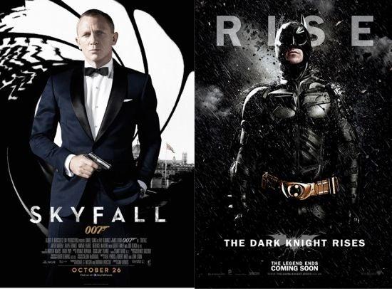 Thek Dark Knight Rises Skyfall