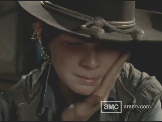 The Walking Dead Carl could become a monster
