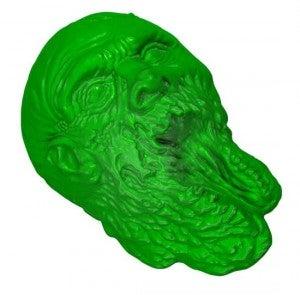 The Walking Dead Gelatin Mold