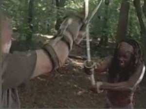 The Walking Dead Merle and Michonne