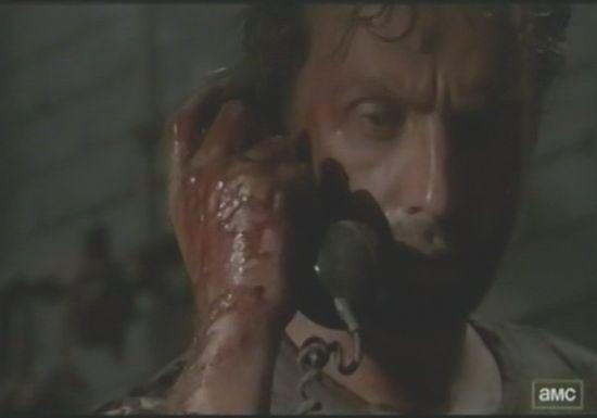 The Walking Dead Phone Call