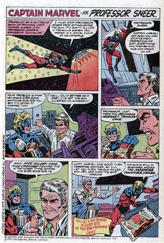 Twinkies Captain Marvel