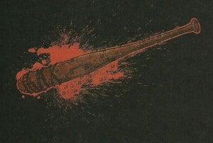 The Walking Dead bat