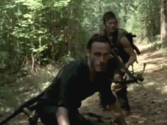 The Walking Dead Rick and Daryl