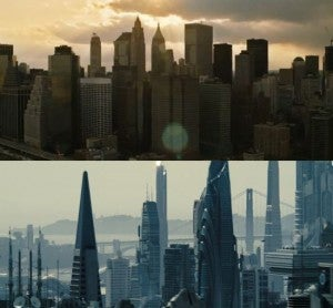 Avengers Star Trek Cities