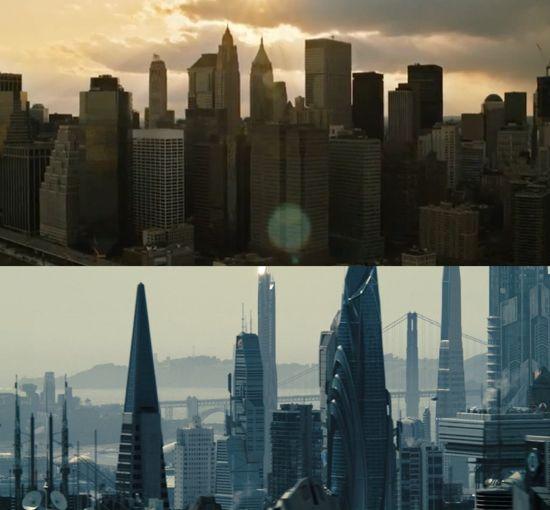 Avengers Star Trek Cities