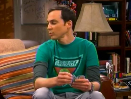 The Big Bang Theory Fish Guts Displacement