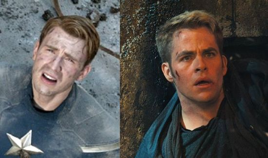 Captain America & Captain Kirk