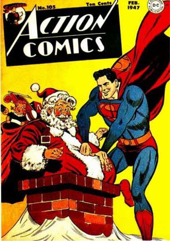 Superman Christmas cover